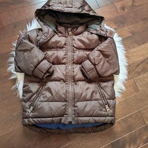 Baby Gap brown winter jacket